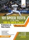 101 Speed Tests for New Pattern SBI & IBPS Clerk Preliminary & Main Exams with 5 Practice Sets 3rd Edition Cover Image