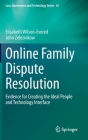 Online Family Dispute Resolution: Evidence for Creating the Ideal People and Technology Interface (Law #45) Cover Image