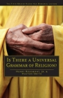 Is There a Universal Grammar of Religion? Cover Image