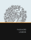 Password Logbook: Fox Internet Password Keeper With Alphabetical Tabs - Large-print Edition 8.5 x 11 inches (vol. 2) Cover Image
