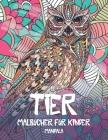 Malbücher für Kinder - Mandala - Tier Cover Image