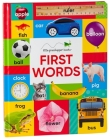 First Words (Large Padded Board Book & Downloadable App!) (Early Learning) Cover Image