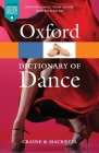 Oxford Dictionary of Dance 2e (Oxford Quick Reference) Cover Image