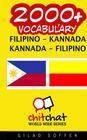 2000+ Filipino - Kannada Kannada - Filipino Vocabulary Cover Image