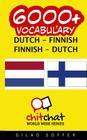 6000+ Dutch - Finnish Finnish - Dutch Vocabulary Cover Image