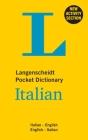 Langenscheidt Pocket Dictionary Italian: Italian-English/English-Italian (Langenscheidt Pocket Dictionaries) Cover Image
