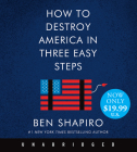 How to Destroy America in Three Easy Steps Low Price CD Cover Image