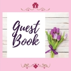 Premium Guest Book- Tulips - For any occasion - 80 Premium color pages - 8.5 x8.5 Cover Image