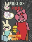 Roblox Piggy: 50 Illustrations of high quality pages of coloring book for kids and adults among us Cover Image