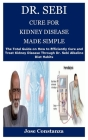 Dr. Sebi Cure for Kidney Disease Made Simple: The Total Guide on How to Efficiently Cure and Treat Kidney Disease Through Dr. Sebi Alkaline Diet Habit Cover Image