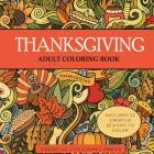Thanksgiving Adult Coloring Book Cover Image