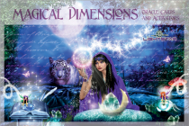 Magical Dimensions Oracle Cards and Activators Cover Image
