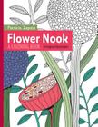 Flower Nook: A Coloring Book Cover Image
