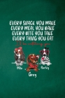 Final Planning Book - Every Snack You Make Every Meal You Bake Dog Lover Cover Image