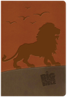 The NKJV Big Picture Interactive Bible, Lion LeatherTouch (The Big Picture Interactive / The Gospel Project) Cover Image
