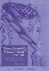 Botany, Sexuality and Womens Writing, 1760-1830: From Modest Shoot to Forward Plant Cover Image