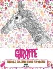 Mandala Coloring Books for Adults Anti Stress - Animal - Giraffe Cover Image