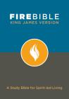 Fire Bible-KJV: A Study Bible for Spirit-Led Living Cover Image