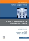 Surgical Management of Benign Lung Disease, an Issue of Thoracic Surgery Clinics, 31 (Clinics: Surgery #31) Cover Image