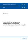 Das Verhaeltnis Von Anlegerschutz Und Kapitalschutz Im Vergleich Von Tuerkischem Und Deutschem Rechtssystem Cover Image