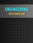 Engineering NoteBook: Graph Paper NoteBook For Engineering, Scientific Labs, and Geometry (NoteBooks For Students): Graph Paper Grid Format Cover Image