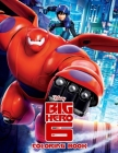 Big Hero 6 Coloring Book Cover Image