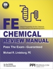 PPI FE Chemical Review Manual, 1st Edition (Paperback) – Comprehensive Review Guide for the NCEES FE Chemical Exam Cover Image