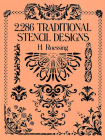 2,286 Traditional Stencil Designs (Dover Pictorial Archive) Cover Image