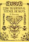 2,286 Traditional Stencil Designs (Dover Pictorial Archives) Cover Image
