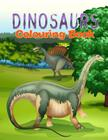 Dinosaurs Coloring Book Cover Image