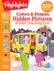 Colors & Shapes Hidden Pictures Sticker Learning Fun Cover Image
