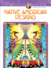Creative Haven Native American Designs Coloring Book (Creative Haven Coloring Books) Cover Image