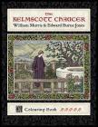 The Kelmscott Chaucer: William Morris & Edward Burne-Jones Colouring Book Cover Image