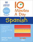 10 Minutes a Day Spanish for Beginners Cover Image