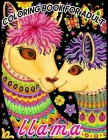 llama COLORING BOOK FOR ADULT: Amazing 50 Beautiful Coloring Book for Llama Lovers for relaxation and stress relief llama coloring books 2019-20 Cover Image