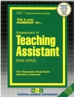Teaching Assistant (ATAS): Passbooks Study Guide (Career Examination Series) Cover Image