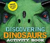 Discovering Dinosaurs Activity Book Cover Image
