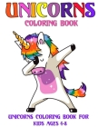 UNICORNS Coloring Book for kids ages 4-8: A Fun Coloring Book of Different And Cute Unicorns coloring pages For Kids Ages 4-8 - Make kids busy And enj Cover Image