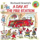 Richard Scarry's A Day at the Fire Station (Pictureback(R)) Cover Image