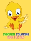 Chicken Coloring book for kids: Chickens Coloring Pages With Cute Chicks, Cover Image