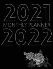 2021-2022 Monthly Planner: 24 Month Agenda for Women, Monthly Organizer Book for Activities and Appointments, 2 Year Calendar Notebook, White Pap Cover Image