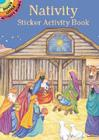 Nativity Sticker Activity Book (Dover Little Activity Books) Cover Image