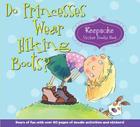 Do Princesses Wear Hiking Boots?: Keepsake Sticker Doodle Book Cover Image