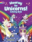 Hooray for Unicorns! Coloring Book Cover Image