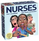 Nurses 2021 Day-to-Day Calendar: Jokes, Quotes, and Anecdotes Cover Image
