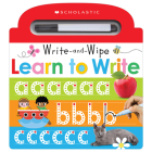 Learn to Write: Scholastic Early Learners (Write and Wipe) Cover Image
