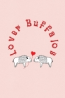 Lover Buffalos: Valentine's Day Gift - ToDo Notebook in a cute Design - 6