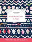 Adult Coloring Journal: Gam-Anon/Gam-A-Teen (Turtle Illustrations, Tribal Floral) Cover Image