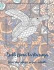 Bellissima tartaruga - Libro da colorare per adulti Cover Image