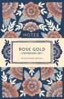 Rose Gold Notebook Set: Two Foil-Stamped Notebooks Cover Image